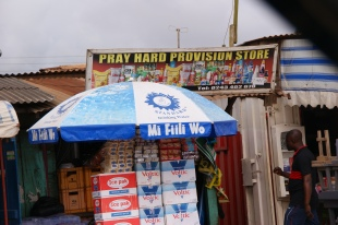 Religious Ghanaian Shop Sign