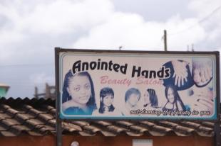 Religious Ghanaian Shop Sign
