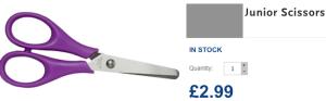 £2.99 Scissors