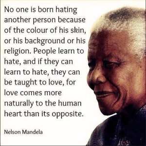 Mandela on bigotry