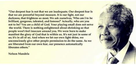 Mandela Inspires