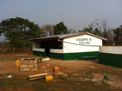 Fulani school after recent improvements